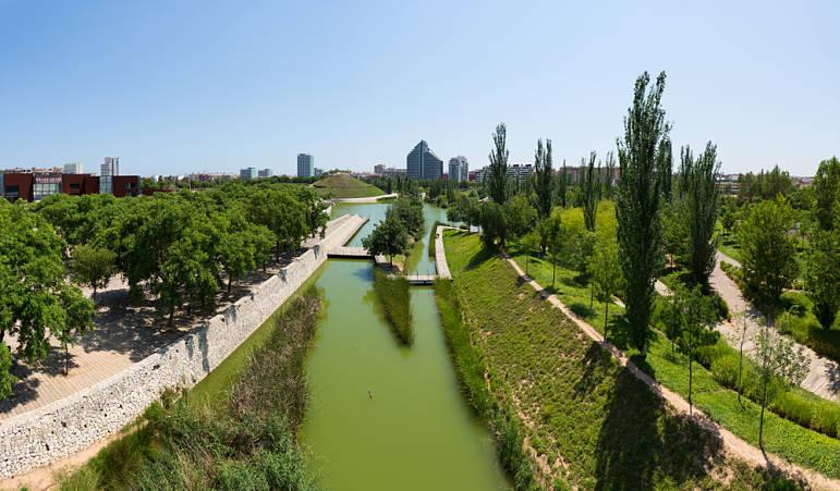 Parque de Cabecera- Rutas con perros por Valencia